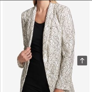 DKNY | Business Black Lace Overlay Blazer